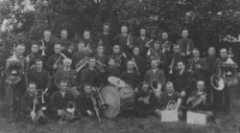 De fanfare in 1897 (foto website OBK)
