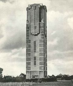 Watertoren in Kaatsheuvel, 1949