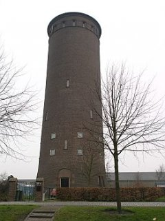 Watertoren van Stampersgat. Foto: Wikipedia, Willemjans