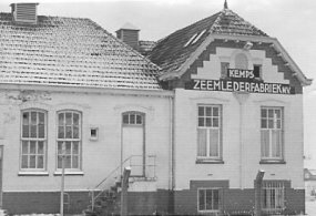 Kemps Zeemlederfabriek in Heesch