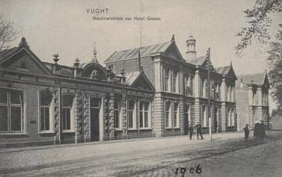 Machinefabriek van Grasso in 1906
